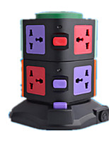 CW2U2 Vertical Socket (Note 2 Layers 2 USB Black Color Black  Red)