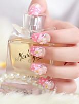 super mooie bruid manicure nagel patch manicure afgewerkt nep nagels nagel tabletten 24