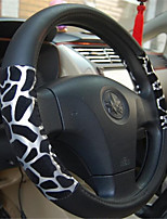 Wedge Leather Skin Steel Leather Steering Wheel