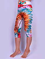 Yoga Pants 3/4 TightsBreathable  Quick Dry  Anatomic Design  Anti-skiddingNon-SkidAntiskid  Protective  Sweat-wicking
