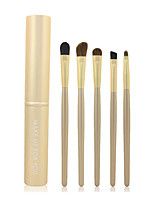 5 Eyeshadow Brush / Brow Brush Professional / Travel / Full Coverage Plastic Eye