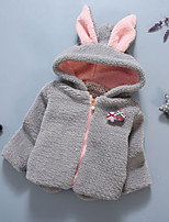 Girl's Casual/Daily Solid Sweater & CardiganCotton Winter Blue / Pink / Gray