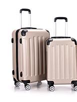 Unisex Plastic Casual Luggage