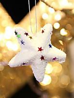 6шт горячий стиль продукт рождества рождества Бурлящий шарик звезда красивые рождественские украшения необходимые аксессуары