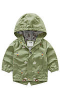 Boy's Casual/Daily Print Suit & BlazerCotton Spring / Fall Green / Yellow