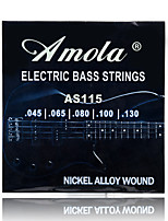 Amola AS115 .045--.130 BASS Guitar strings bass string 5 Electric bass strings Medium