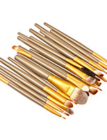 20 Makeup Brushes Set Synthetic Hair Professional / Portable Wood Face / Eye / Lip 7#