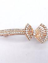 Women Gold Plated / Rhinestone Hair Clip,Cute / Party / Work / Casual