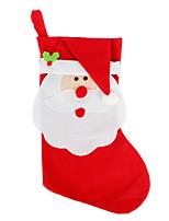 grandes décorations de noël noël stockage enfant noël sac cadeau bonbons sacs chaussettes de Noël ornements d'arbre