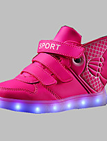 LED Light Up Shoes,Boy's Boots Spring / Summer / Fall / Winter Comfort PU Outdoor / Athletic / Casual Flat Heel Others