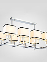 5 Pendant Light ,  Modern/Contemporary Country Electroplated Feature for Crystal Designers MetalLiving Room Bedroom Dining Room Study