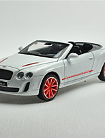 Action Figure / Play Vehicles Model & Building Toy Car Metal Black / White / Blue / Gray For Boys Above 3