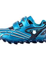 Синий / Красный / Тёмно-синий-Унисекс-На каждый день-Кожа / Дерматин-На плоской подошве-Удобная обувь-Кеды