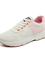 Women's Sneakers Spring Summer Fall Comfort Fabric Casual Athletic Flat Heel Others Blue Green Pink Walking
