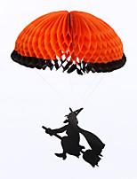 (Muster ist zufällig) 1pc hallowmas Requisiten Fallschirm für Kostüm-Party dekorieren
