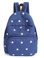 Women Canvas Sports / Outdoor Backpack Purple / Blue / Brown / Black
