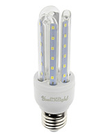 7W E26/E27 Lâmpadas Espiga T 36 SMD 2835 600 lm Branco Quente / Branco Frio Decorativa V 1 pç