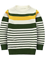 Boy's Casual/Daily Striped Sweater & CardiganCotton Winter / Fall Black