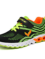 Boy's Sneakers Spring / Fall Comfort Fabric Casual Flat Heel Green / Orange Sneaker