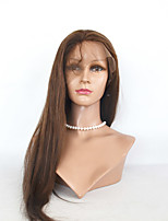 Short  Length Straight Human Hair  Lace Front Human Hair Wigs For Woman