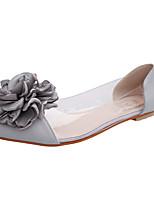 Черный / Розовый / Серый-Женский-На каждый день-ПВХ-На плоской подошве-Силиконовая обувь-Сандалии
