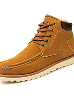 Men's Boots Spring / Fall / Winter Fashion Boots / Comfort Casual Flat Heel Lace-up Black / Blue / Brown Others
