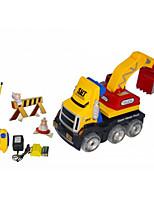 LKW Rennen 566-86 1:10 Bürster Elektromotor RC Car / 2.4G Gelb Fertig zum MitnehmenFerngesteuertes Auto / Fernsteuerung/Sender /