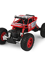 Buggy PX 3288A 1:18 Brush Electric RC Car 2.4G Red / Blue Ready-To-GoRemote Control Car / Remote Controller/Transmitter / Battery Charger
