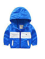 Boy's Casual/Daily Solid Jacket & CoatAcrylic Spring / Fall Blue / Green