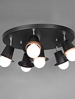 Max 60W צמודי תקרה ,  מסורתי/ קלאסי צביעה מאפיין for מעצבים מתכת חדר שינה / חדר אוכל / מטבח / מסדרון