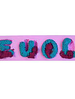 1 Pečení pečení nástroje / 3D / Vysoká kvalita / Nepřilnavý / Šetrný k životnímu prostředí / DIYChléb / Dorty / Sušenky / Cupcake / Koláč