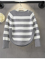 Boy's Casual/Daily Striped Sweater & CardiganAcrylic Spring / Fall Black / Red / Gray