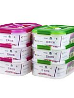 multifonction étanche verrouillables boîtes de rangement en plastique avec poignée (2.3l * 3p)