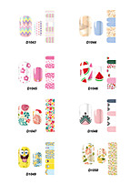 D Series Cartoon Nail Stickers