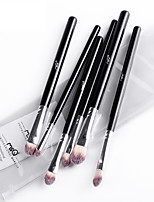 MSQ® 6 Makeup Brushes Set EyeShadow Brushes Eyeliner Brushes Nylon Professional / Eco-friendly / Portable Wood Handle