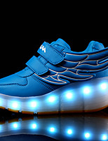 Kid Boy Girl Roller Shoes / Ultra-light Single Wheel Skating LED Light Shoes / Athletic / Casual LED Shoes