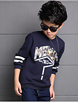 Boy's Casual/Daily Print Hoodie & SweatshirtCotton / Rayon Winter / Spring / Fall Blue / Red