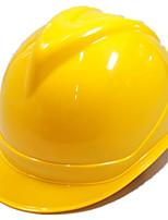 construction d'un casque de sécurité abs (jaune)