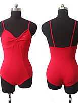 Microfiber Lycra Camisole Leotard with Twist Front Ballet Dancewear More Colors for Girls and Ladies