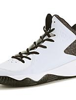 Femme-Extérieure / Décontracté / Sport-Noir / Blanc / Noir et rouge-Talon Plat-Confort-Chaussures d'Athlétisme-Microfibre