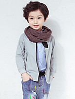 Boy's Casual/Daily Solid Suit & BlazerCotton Fall Green / Gray