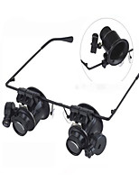 Magnifier Outdoor / Indoor Multi Function ABS Noir