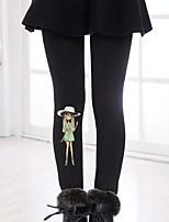 Pantalons Fille Décontracté / Quotidien Imprimé Coton Hiver