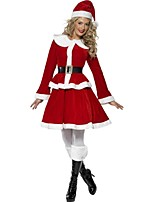 Dreamgirl Women's Cute Christmas Costume  Female Naughty Santa Costumes Dress  Smiffy's Miss Santa Costume