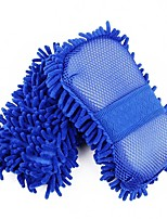 AUTOYOUTH 1Pcs Sponge Microfiber Washer Towel Duster For Cleaning & Detailing Car Styling Wahing Brushes For Ford Focus