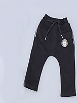Boy's Casual/Daily Solid PantsCotton Spring / Fall Black