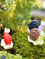 Micro Landscape Color Random Moss Meaty Plant Furnishing Articles 3 Color Snail Resin Crafts Are DIY Material