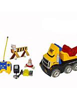 LKW Rennen 566-90 1:10 Bürster Elektromotor RC Car / 2.4G Rot Fertig zum MitnehmenFerngesteuertes Auto / Fernsteuerung/Sender /