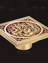 Drainage / Gadget de Salle de Bain / Cuivre Antique0CM /Acier Inoxydable /Antique /10 10 0.15