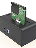 hd626 boîte de disque dur portable USB3.0 enceinte hdd 3.5 hdd enceinte siège disque dur de 3,5 pouces